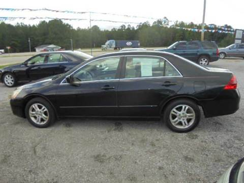 2006 Honda Accord for sale in Wagarville, AL