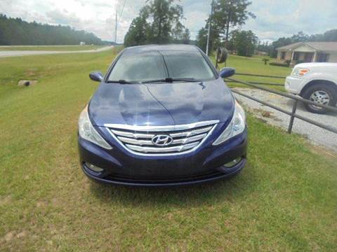 2012 Hyundai Sonata for sale in Wagarville, AL