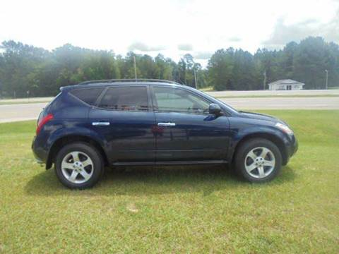 2003 Nissan Murano for sale in Wagarville, AL