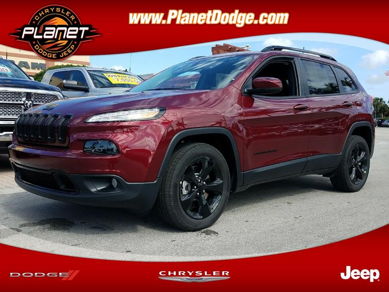 2018 Jeep Cherokee for sale in Miami, FL