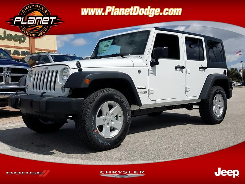 2018 Jeep Wrangler Unlimited For Sale In Miami, FL