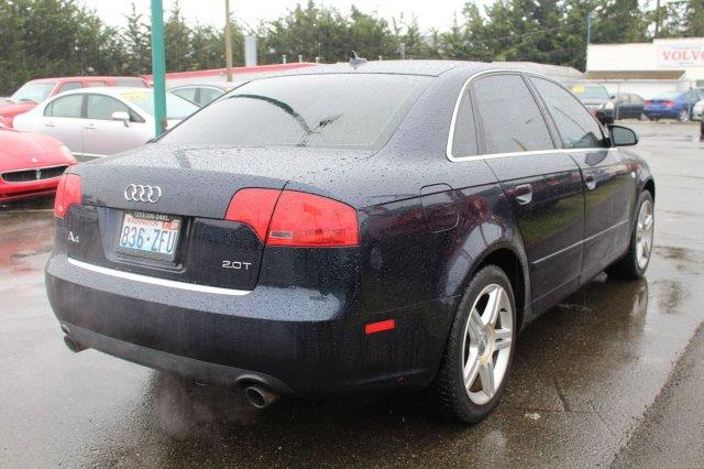2007 Audi A4 2.0T 4dr Sedan (2L I4 CVT) - Edmonds WA
