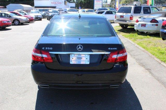 2010 Mercedes-Benz E-Class AWD E 350 Luxury 4MATIC 4dr Sedan - Edmonds WA