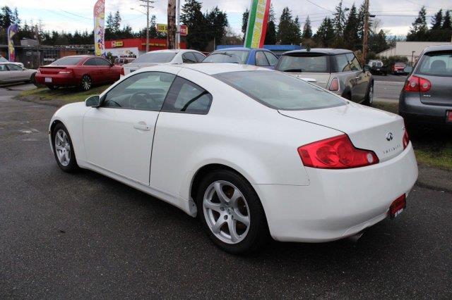 2005 Infiniti G35 Rwd 2dr Coupe - Edmonds WA