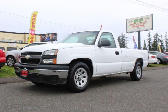 2006 Chevrolet Silverado 1500 Work Truck - Edmonds WA
