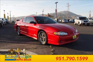 2000 Chevrolet Monte Carlo for sale in Riverside, CA