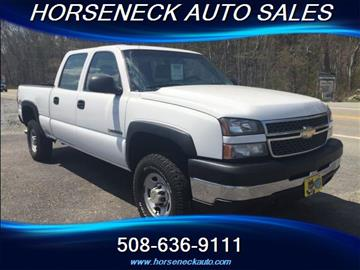 2005 Chevrolet Silverado 2500HD for sale in Westport, MA