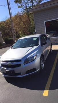 2013 Chevrolet Malibu for sale in Springfield, VT