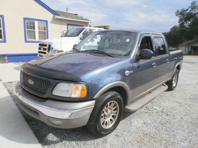 2002 ford f 150 4dr supercrew king ranch 2wd styleside sb in spartanburg sc bargain auto sales inc. Black Bedroom Furniture Sets. Home Design Ideas