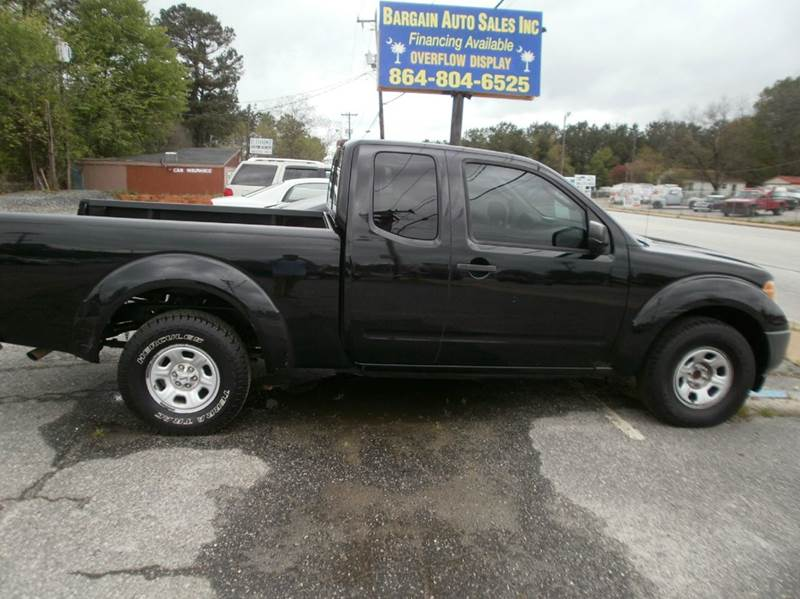 2007 nissan frontier xe 4dr king cab 6 1 ft sb 2 5l i4 5a in spartanburg sc bargain auto. Black Bedroom Furniture Sets. Home Design Ideas