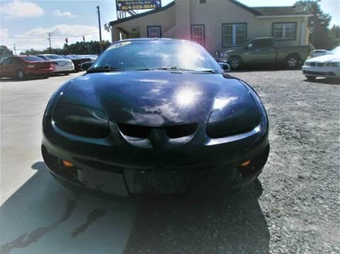 2002 Pontiac Firebird for sale in Spartanburg, SC