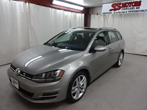 2015 Volkswagen Golf SportWagen For Sale In Courtland, MN