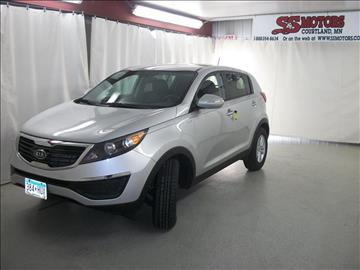 2011 Kia Sportage for sale in Courtland, MN