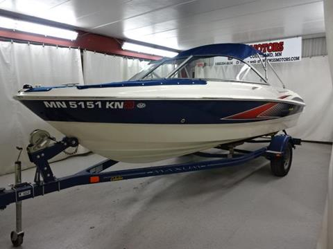 2008 Maxum 1800 RS3 for sale in Courtland, MN