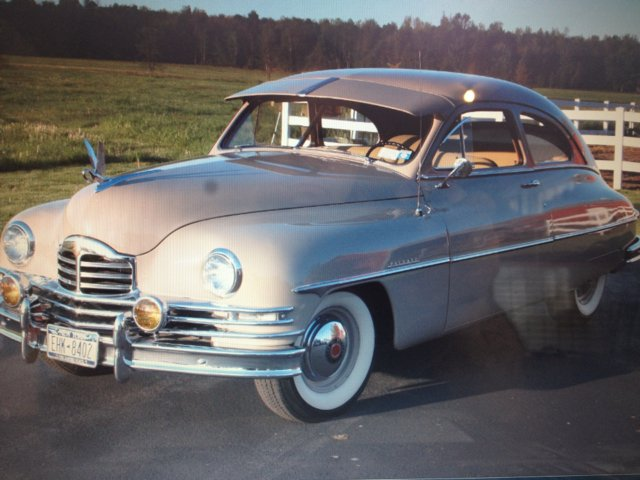 1950 Packard Deluxe 8 Base