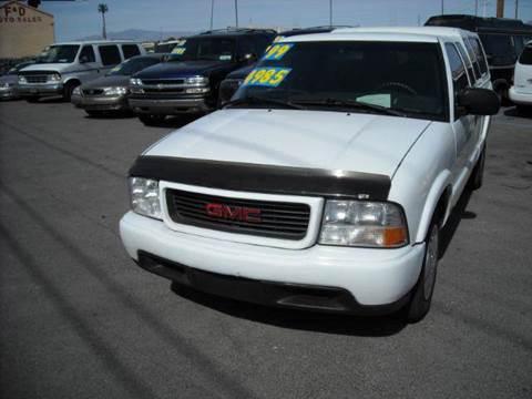 1999 GMC Sonoma for sale in Las Vegas, NV