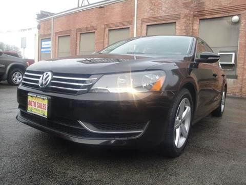 2012 Volkswagen Passat for sale in Worcester, MA