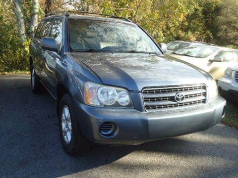 2003 Toyota Highlander for sale in Swansea, MA