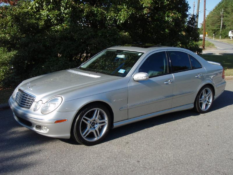 2003 Mercedes-Benz E-Class E55 AMG 4dr Sedan In Marietta GA - Big ...