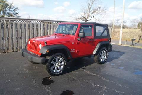 2008 Jeep Wrangler for sale in Orleans, IN