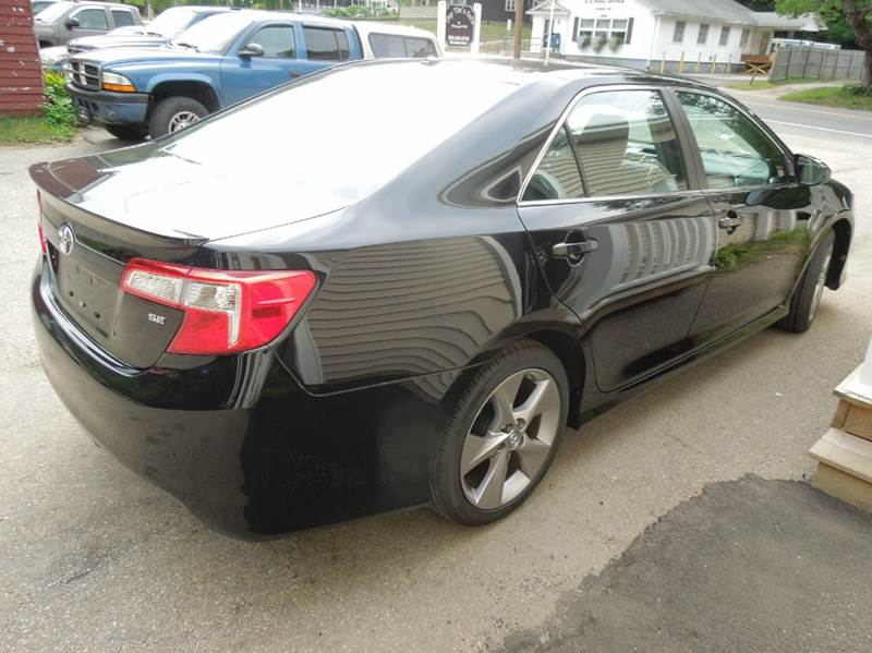 2012 toyota camry se sport limited edition 4dr sedan in rochdale ma convenient auto repair sales. Black Bedroom Furniture Sets. Home Design Ideas