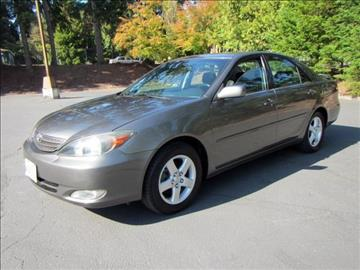 2002 Toyota Camry for sale in Shoreline, WA