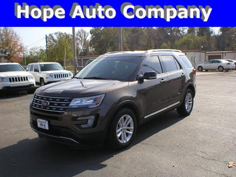 2016 Ford Explorer for sale in Hope, AR