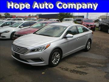 2017 Hyundai Sonata for sale in Hope, AR