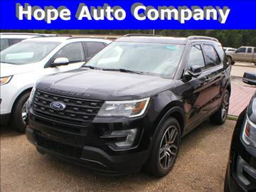 2017 Ford Explorer for sale in Hope, AR