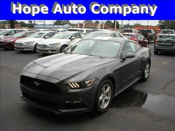 2017 Ford Mustang for sale in Hope, AR