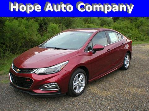 2017 Chevrolet Cruze for sale in Hope, AR