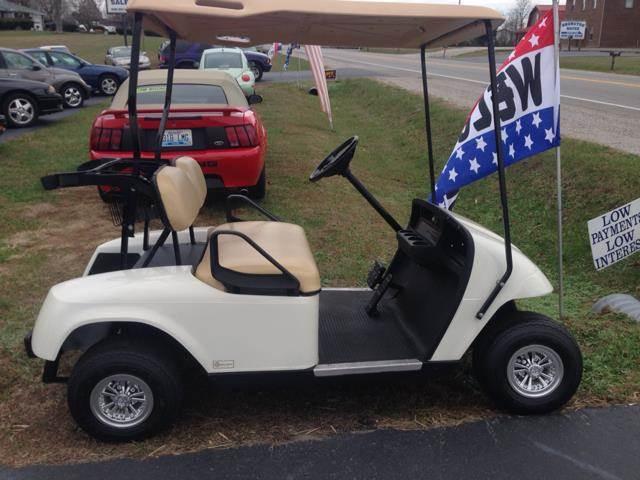 Used 2009 e z go golf cart for sale for Narrow golf cart