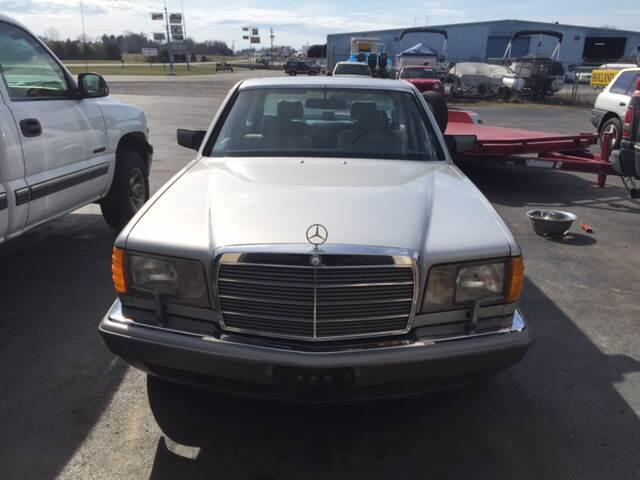 1986 mercedes benz 420 class 420sel 4dr sedan in somerset for Mercedes benz service b specials