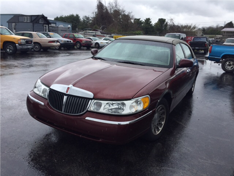 2002 Lincoln Town Car For Sale In Somerset, KY