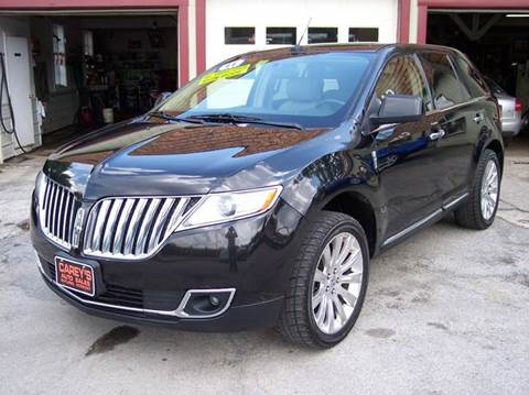 2011 Lincoln MKX for sale in Rutland, VT