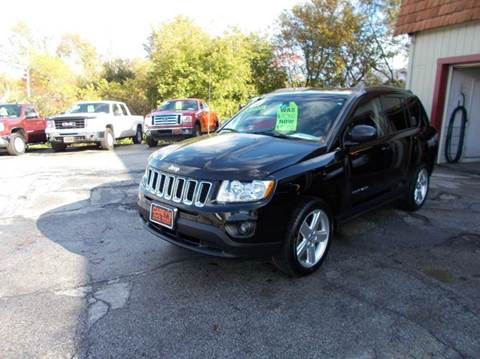 2012 Jeep Compass for sale in Rutland, VT