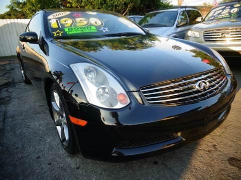 2005 Infiniti G35 for sale in Miami, FL