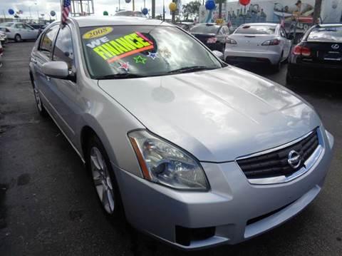 2008 Nissan Maxima for sale in Miami, FL
