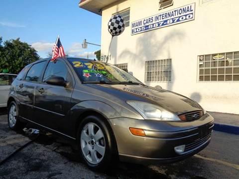 2002 Ford Focus for sale in Miami, FL