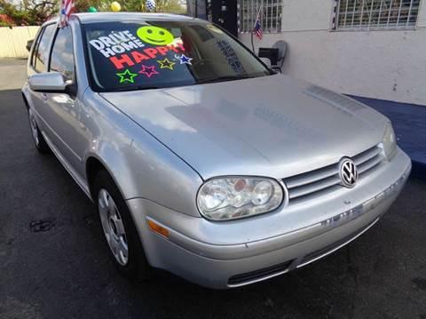 2002 Volkswagen Golf for sale in Miami, FL