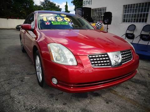 2006 Nissan Maxima for sale in Miami, FL