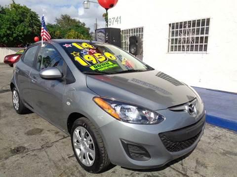 2014 Mazda MAZDA2 for sale in Miami, FL