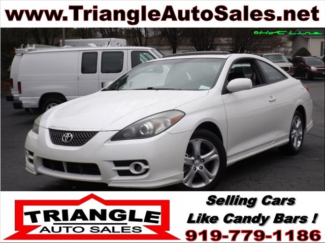 2008 toyota camry solara sport v6 coupe in raleigh apex cary triangle auto sales. Black Bedroom Furniture Sets. Home Design Ideas