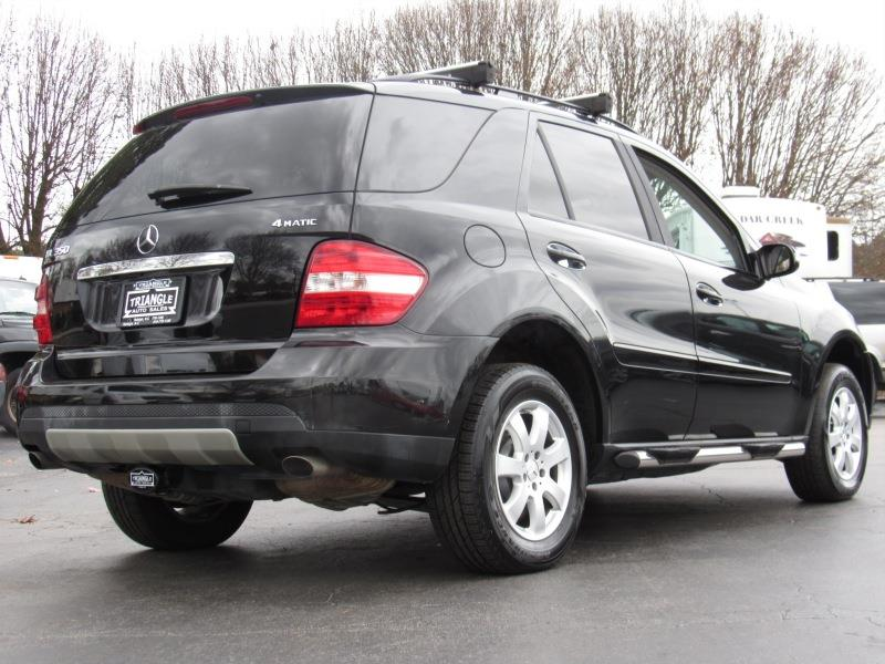 2007 mercedes benz m class ml350 awd 4matic 4dr suv in raleigh nc triangle auto sales. Black Bedroom Furniture Sets. Home Design Ideas