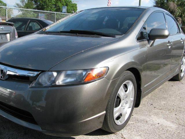2006 Honda Civic LX 4dr Sedan - Tampa FL