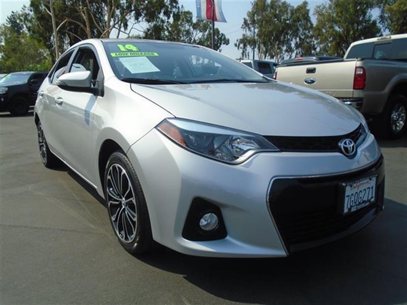 2014 Toyota Corolla S Plus   Escondido CA