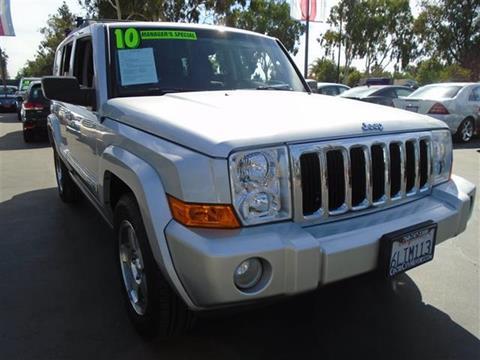 2010 Jeep Commander for sale in Escondido, CA