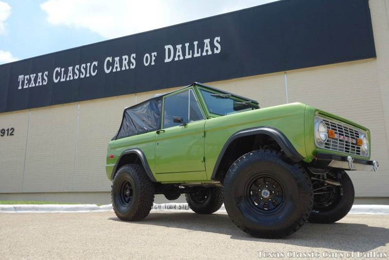 1974 ford bronco in dallas tx texas classic cars of dallas. Black Bedroom Furniture Sets. Home Design Ideas