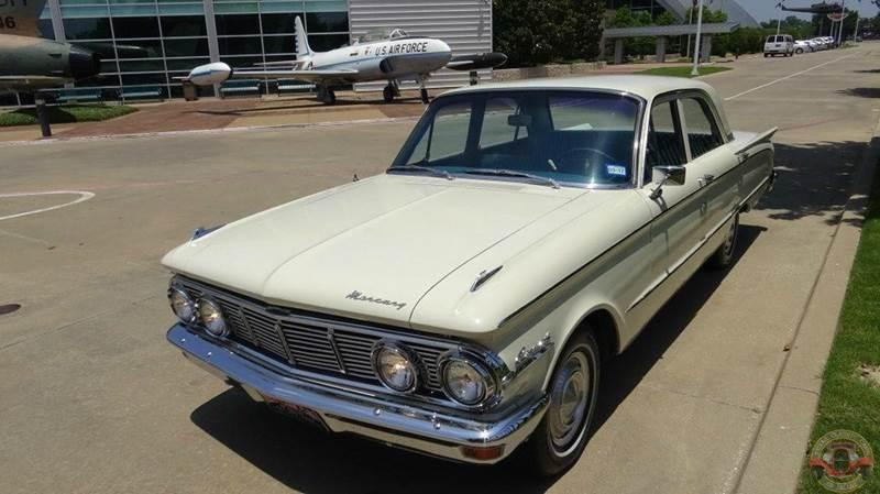 1963 mercury comet 4 door in dallas tx texas classic cars of dallas. Black Bedroom Furniture Sets. Home Design Ideas