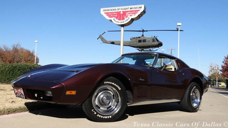1974 chevrolet corvette stingray in dallas tx texas classic cars of dallas. Black Bedroom Furniture Sets. Home Design Ideas